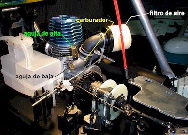 El nivel de la gasolina en el carburador en los floreros 2106