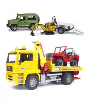 Camiones, maquinaria y otros