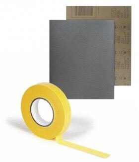 Lijas y masking tape