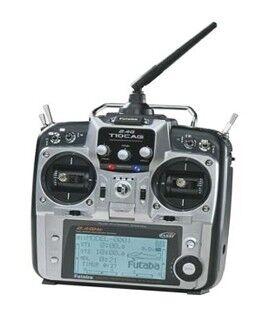 Radiocontroles, servos, receptores, baterias, cargadores y accesorios varios