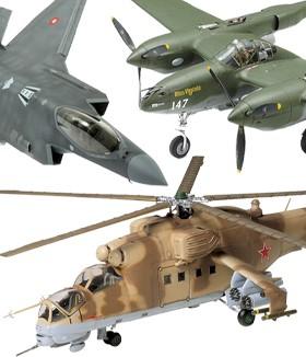 Aviones y helicópteros