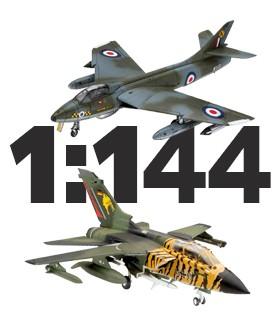 Aviones escala 1:144