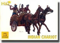 HAT 8143 1:72 INDIAN CHARIOT W/WARRIORS