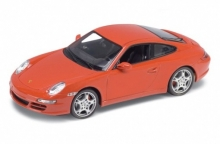 WELLY 18004 PORSCHE 911 (997) CARRERA S COUPE BLACK OR RED OR SILVER 1:18