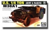 AFV 35S17 1:35 US ARMY 1:4-TON M 38 A1C JEEP