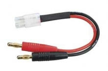 DURATRAX DTXC2220 CHARGE LEAD BANANA PLUGS TO STANDARD