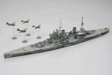 TAMIYA 31615 BRITISH PRINCE OF WALES BATTLESHIP X1