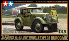TAMIYA 32558 1-48 JAPANESE 4X4 LIGHT VEHICLE TYPE 95 KUROGANE