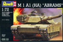 REVELL 03112 M 1 A 1 ABRAMS 1:72
