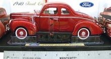 MOTORMAX 73108 1940 FORD COUPE 1:18