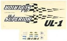 AQUACRAFT AQUB6302 DECALS UL-1 SUPERIOR