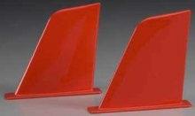 AQUACRAFT AQUB9302 VERTICAL FINS RED UL-1 SUPERIOR