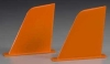 AQUACRAFT AQUB9301 VERTICAL FINS ORANGE UL-1 SUPERIOR