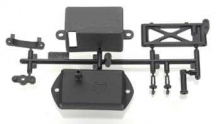 HPI 100324 RECEIVER BOX-UPPER DECK PARTS SET FIRESTORM