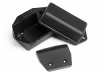 HPI 100323 BATTERY BOX-SKID PLATE SET FIRESTORM