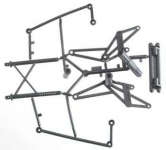 HPI 85255 WHEELY KING BUMPER-ROLL BAR SET