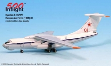 GENESIS A015-IF5176004 RUSSIAN AIR FORCE RED 01 IL 76 976 1:500