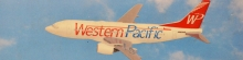 GENESIS ABO-73730F-003 WESTERN PACIFIC 737 300 1:180