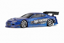 HPI 7721 NISSAN SILVIA PAINTED BODY (S15/BLUE/200MM)