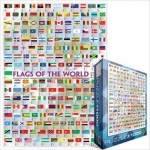 EUROGRAPHICS 6000-0128 FLAGS OF THE WORLD 2008