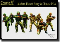 CAESAR 59 1:72 MODERN FRENCH ARMY & CHINESE PLA (36)