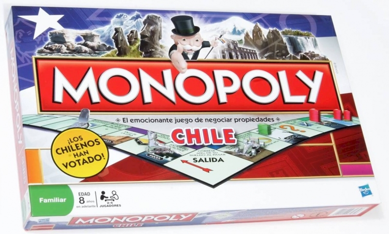 Mirax Hobbies Hasbro 01610 Monopoly National Chile