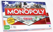 HASBRO 01610 MONOPOLY NATIONAL CHILE