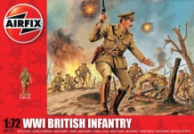 AIRFIX 00727 WWI BRITISH INFANTRY 1:72