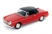 WELLY 22494 STR 1967 PEUGEOT 404 CABRIOLET, RED or white