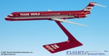 GENESIS AMD-08000H-005 TWA WINGS OF PRIDE MD 83 1:200