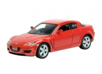 MOTORMAX 73323 2005 MAZDA RX 8 GRAY OR RED 1:24