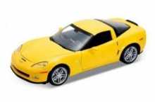 WELLY 22504 2007 CHEVROLET CORVETTE 1:24