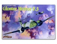 DRAGON 5044 1:72 GLOSTER METEOR F 3 FIGHTER