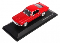 ROAD 43206 1:43 MUSTANG GT 1968 RED OR WHITE