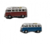 ROAD 43208 1:43 VW MIRCOBUS 1962 BLUE OR RED