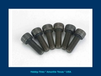 DUBRO 2278 4MM X 14 SOCKET HEAD CAP SCREWS 4/PKG.