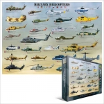EUROGRAPHICS 6000-0088 MILITARY HELICOPTERS