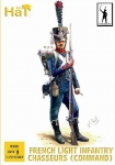 HAT 8252 1:72 NAPOLEONIC FRENCH LIGHT INFANTRY CHASSEURS COMMAND (32)
