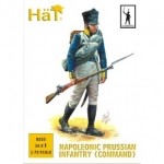 HAT 8255 1:72 NAPOLEONIC PRUSSIAN INFANTRY COMMAND (36)