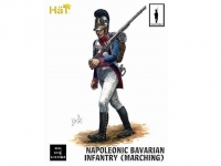 HAT 9313 1:32 NAPOLEONIC INFANTRY BAVARIAN INFANTRY MARCHING (18)