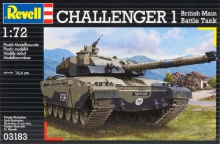 REVELL 03183 1:72 CHALLENGER I BRITISH MAIN BATTLE TANK