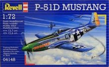 REVELL 04148 1:72 P 51 MUSTANG USAF COMBAT WWII AIRCRAFT