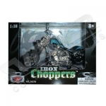 MOTORMAX 76278 1:18 IRON CHOPPERS