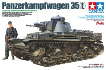 TAMIYA 25112 1:35 GERMAN PANZERKAMPFWAGEN 35(T) C/FIG