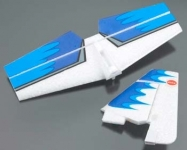 COX STABILIZER AND FIN/RUDDER TAIL SET EXTRA 300 EP