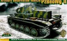 ACE 72270 1:72 PZBEOWG II GERMAN ARTILLERY OBSERVATION VEHICLE