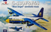 AMODEL 1425 1:144 C 130 & F 4 J BLUE ANGEL AEROBATIC TEAM