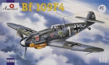 AMODEL 72125 1:72 MESSERSCHMITT BF 109 F4 ( MULTI DECAL KIT )