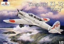 AMODEL 72154 1:72 KAWASAKI KI 32 MARY GREY
