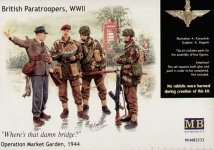 MB 3533 1:35 ENGLISH PARATROOPERS, 1944. KIT 1